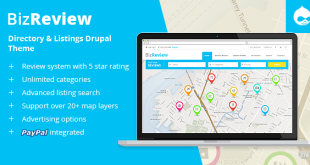 BizReview-Directory-Listing-Drupal-Theme