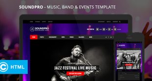 SoundPro-Responsive-Music-Band-Event-Template