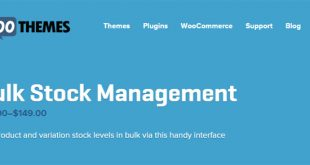 Woocommerce-Bulk-Stock-Management